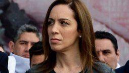 María Eugenia Vidal fue gobernadora de Buenos Aires antes que Áxel Kicillof.