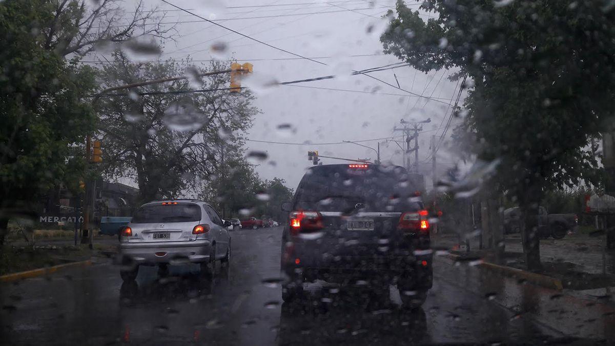 Finde bajón: alerta por frío y lluvia según el pronóstico del tiempo en Mendoza