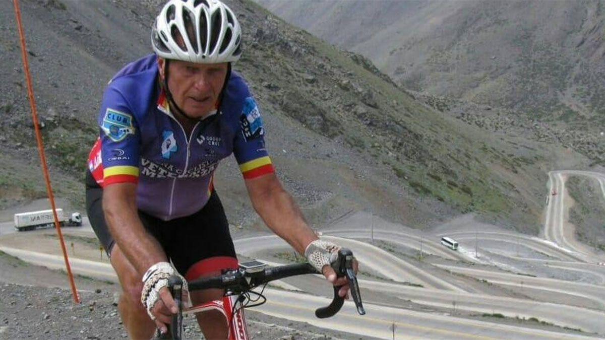 Hay dolor en el ciclismo por la muerte de Sergio Ambrosi
