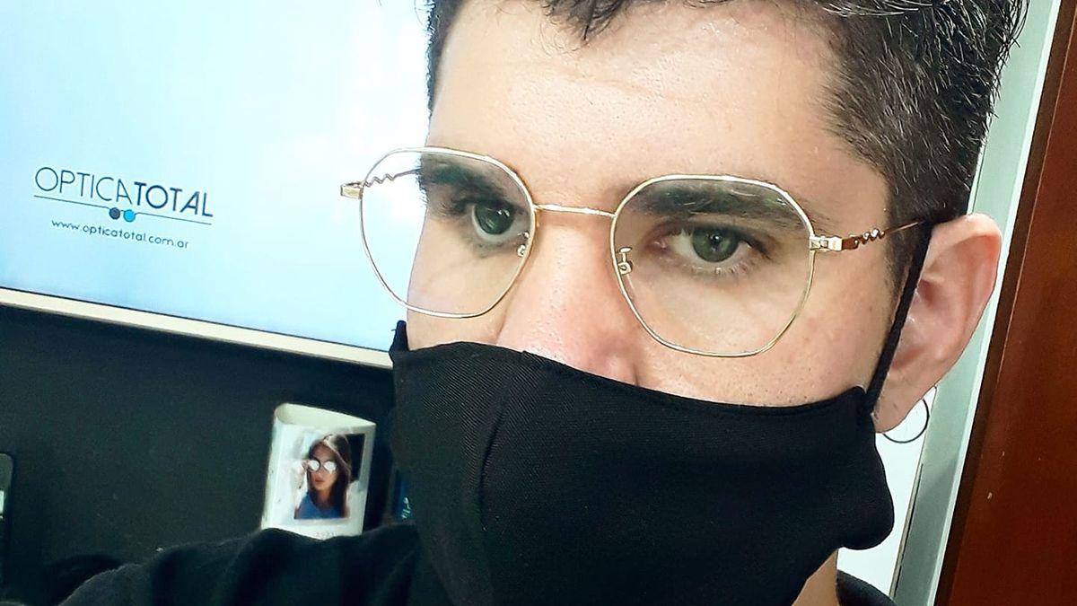Julián Marcozzi perdió un ojo en un accidente