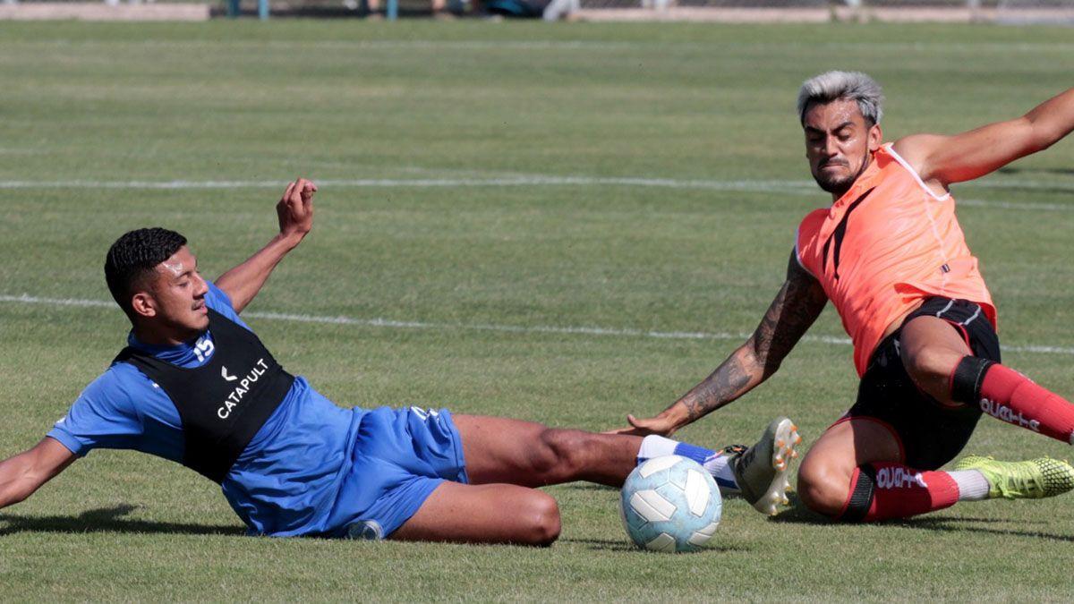 En Coquimbito el Globo sumó minutos de fútbol de cara al reinicio del Federal A.