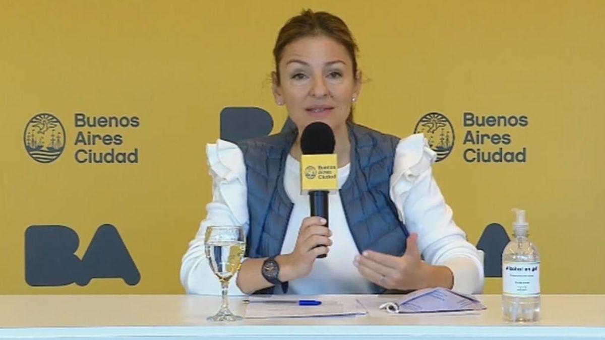 La ministra de educación porteña Soledad Acuña tuvo palabras despectivas para con los docentes en una charla vía Zoom