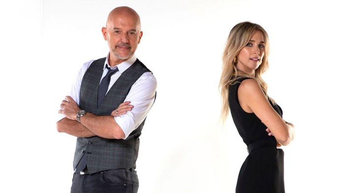 Guillermo López y Soledad Fandiño conducirán Santo Sábado por Canal Siete