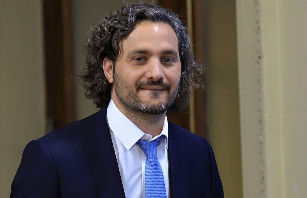 Santiago Cafiero respondió a la columna de Macri tildándolo de vago. El expresidente había criticado al gobierno. Foto: NA.