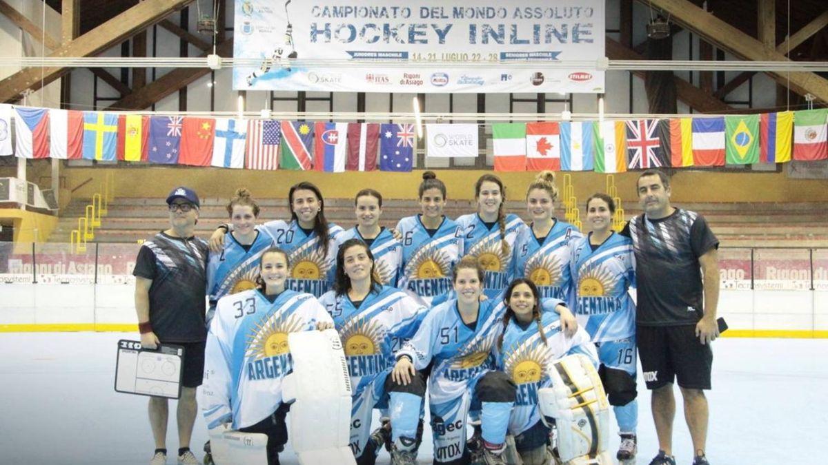 El plantel nacional de roller hockey femenino cuenta con tres mendocinas: Mariana Meneses, Ignacia Reina y Lucia Romero Rosso, que disputarán el Mundial de Italia, en Abruzzo.