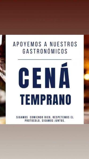 Bares y restaurantes de Mendoza lanzaron una particular campaña