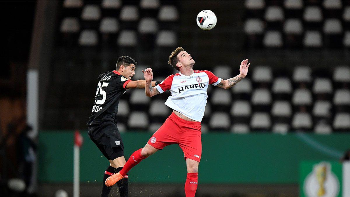 Exequiel Palacios volvió y Leverkusen hizo un papelón