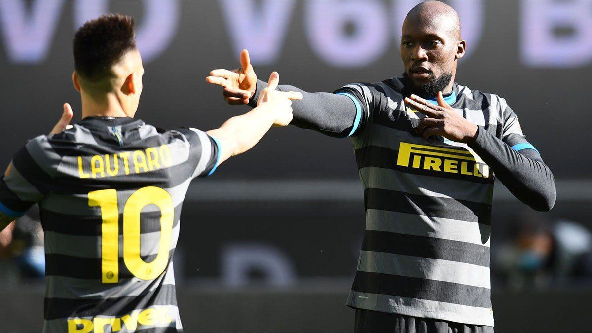 Inter, con Lautaro Martínez, goleó y es un sólido líder