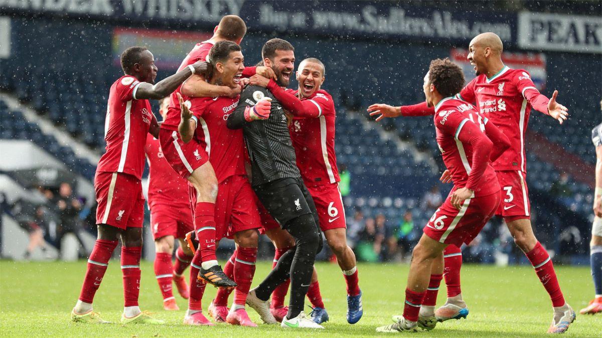Alisson, arquero del Liverpool, anotó un golazo en el final