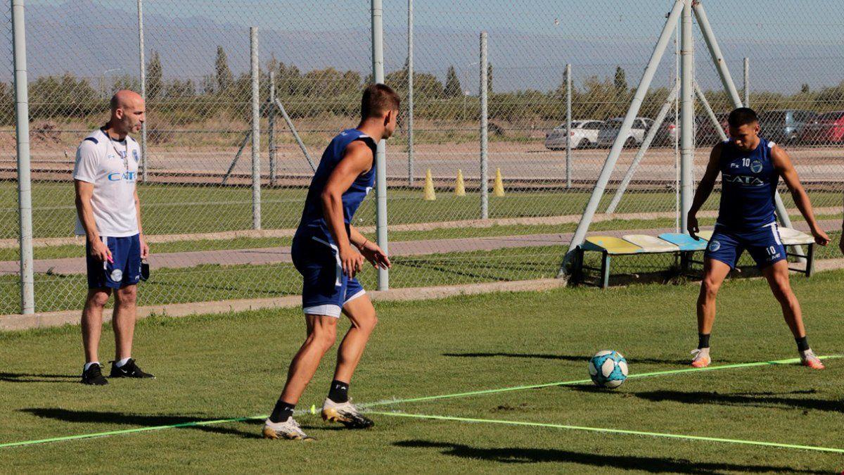 Godoy Cruz este martes volverá al trabajo bajo la conducción de Méndez.
