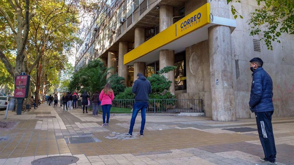 El Correo Argentino cerró sus puertas por un caso de coronavirus en Mendoza
