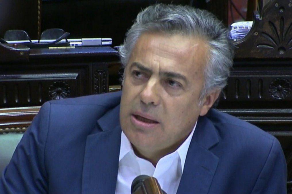 El diputado nacional y presidente de la UCR