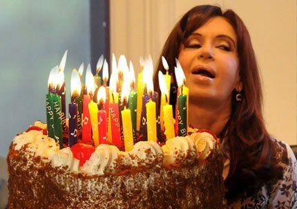 Hoy es el cumpleaños de Cristina