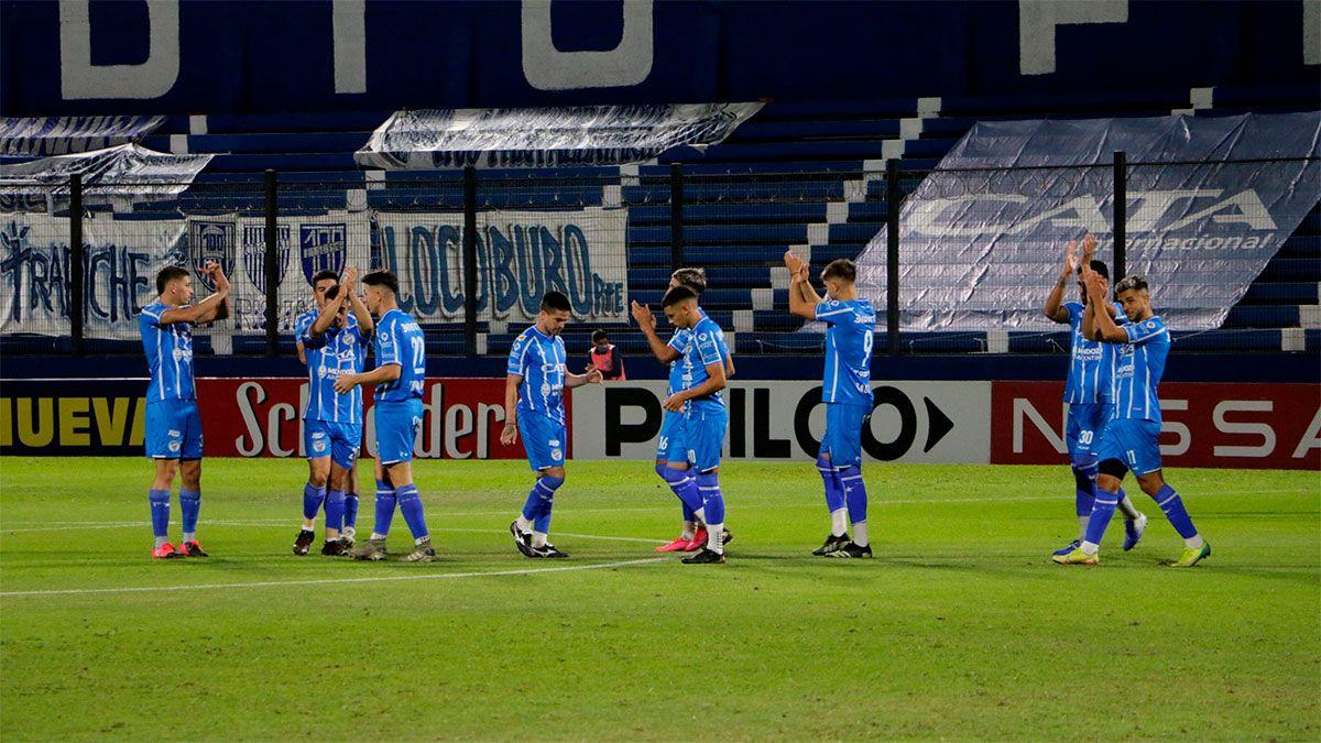 El Tomba logró tres valiosos puntos ante Central Córdoba. (Gentileza Prensa Godoy Cruz).