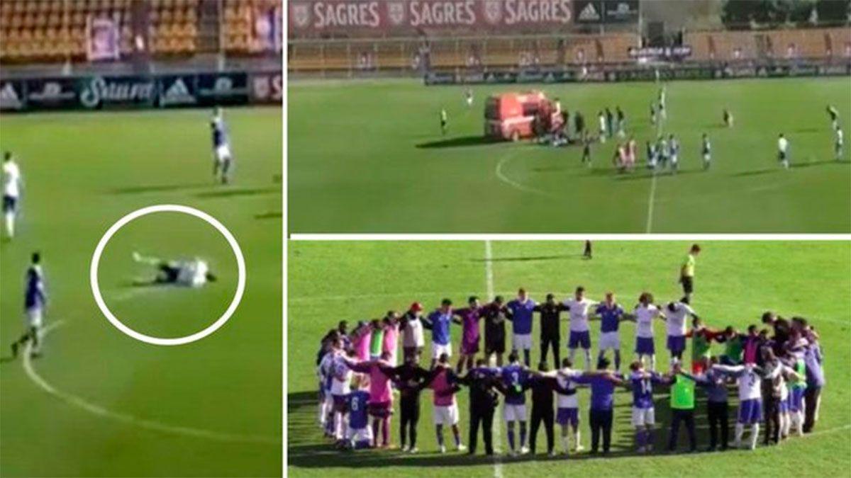 Murió en Portugal un jugador brasileño a cuatro días de desplomarse en el campo de juego.