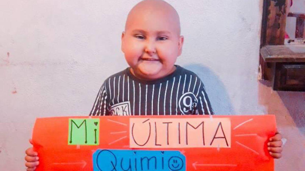 Tiziano está venciendo el cáncer
