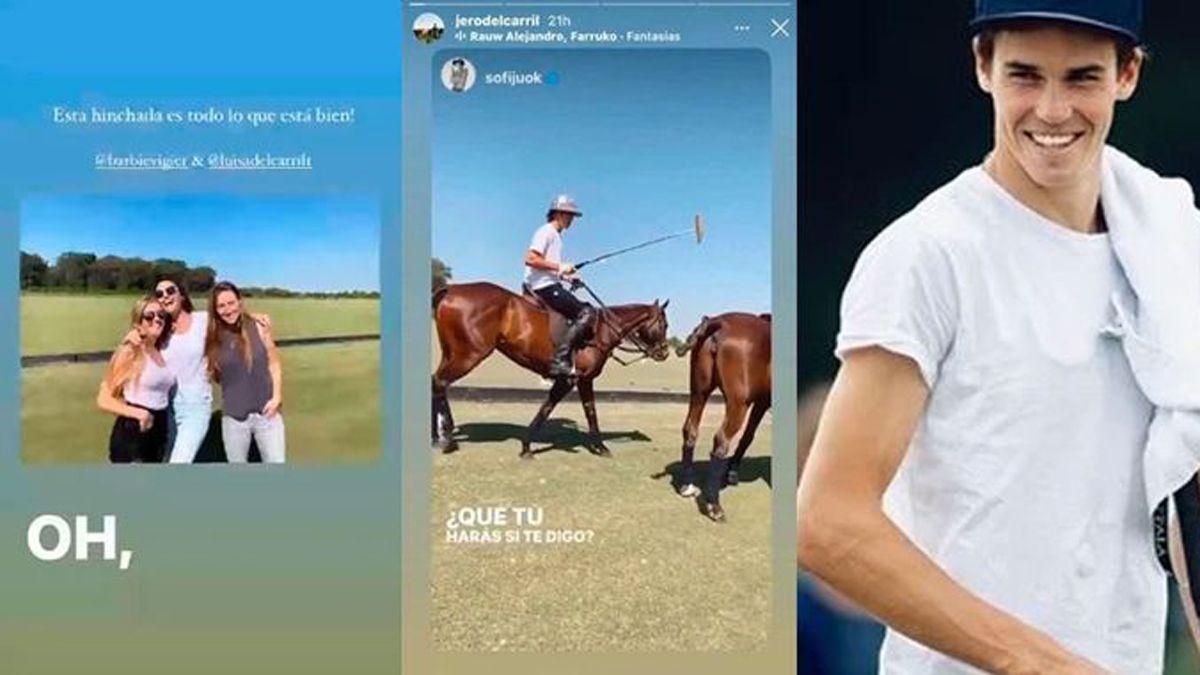 Jerónimo del Carril compartió varias historias en su cuenta de Instagram.