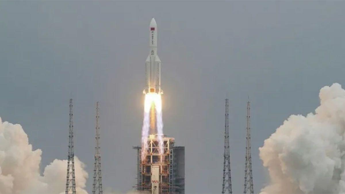 El cohete chino fuera de control fue lanzado el 29 de abril