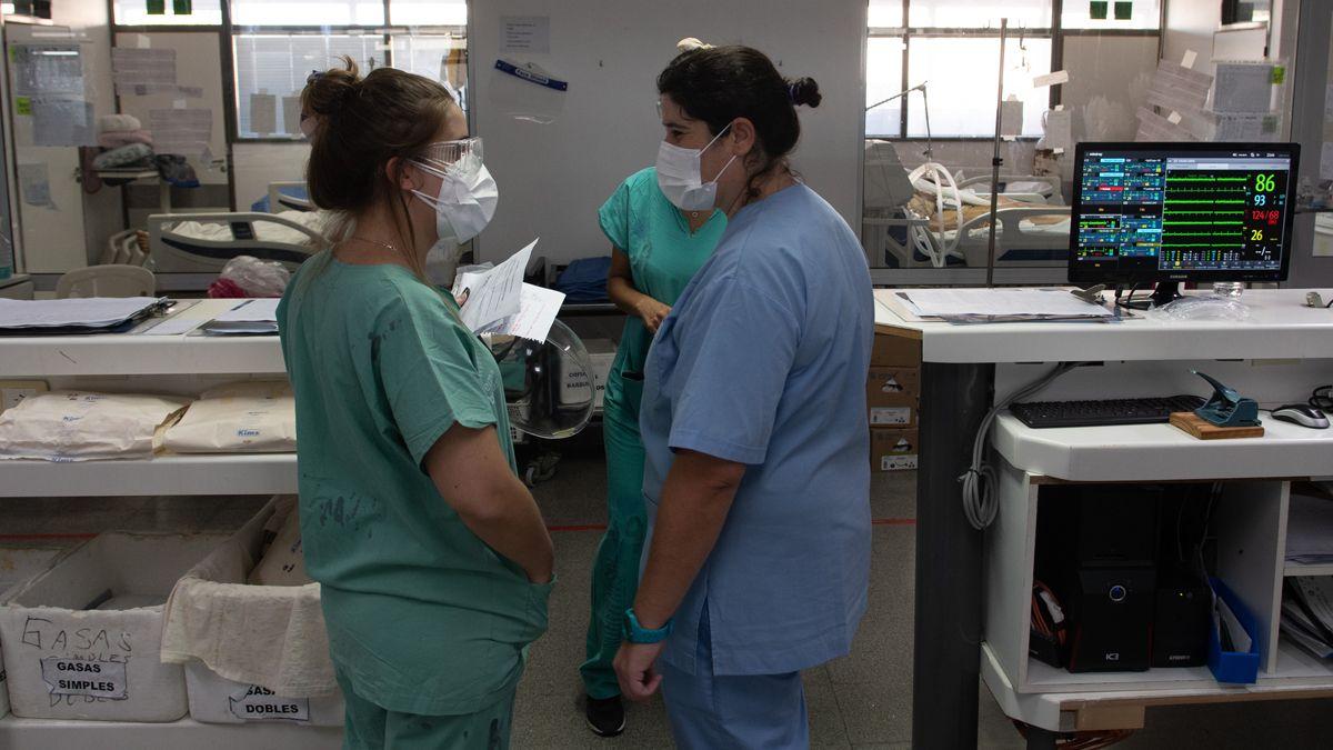 Covid: La ocupación de camas en el país es del 68%. La pandemia de coronavirus no le da tregua al sistema de salud.