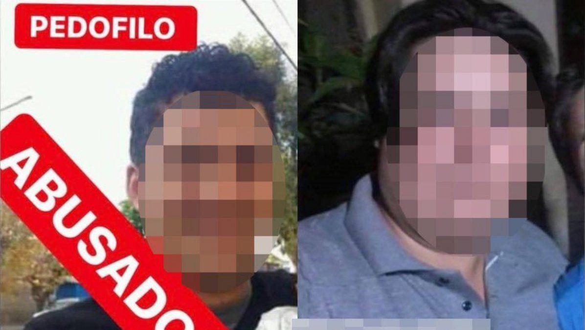 Los acusados del abuso sexual en San Carlos -se oculta su rostro para resguardar el de las víctimas-.