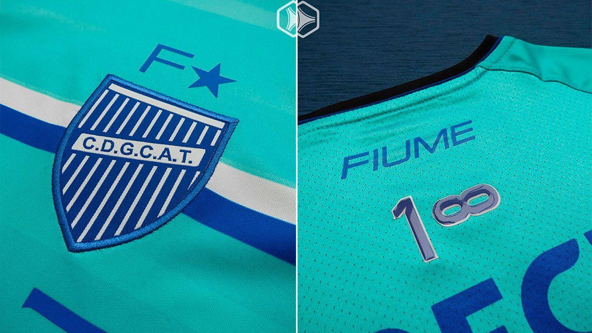 Godoy Cruz estrenó camiseta y a los hinchas les gustó