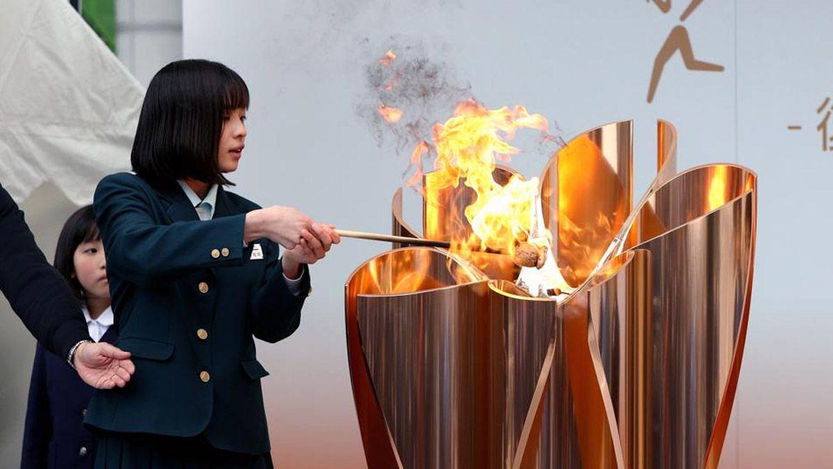 La llama olímpica se mostrará en Tokio