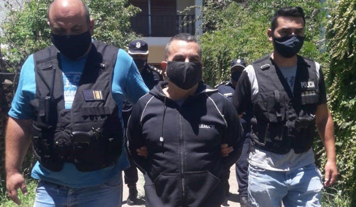 El femicida Fabián Tablado fue detenido por violar una perimetral al circular a 150 metros del lugar de trabajo del padre de Carolina Aló