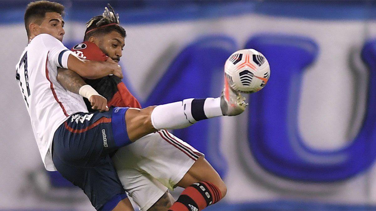 Flamengo se lo dio vuelta a Vélez