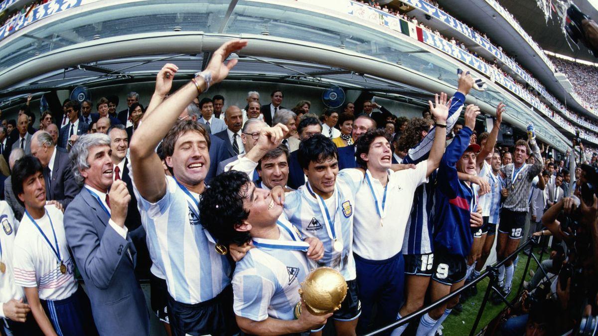 La Selección Argentina alcanzó la gloria el 29 de junio de 1986, en México.