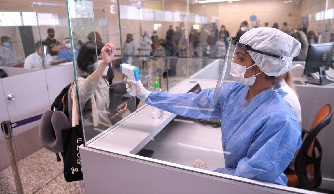 Coronavirus en Argentina. Bajan la cantidad de casos.