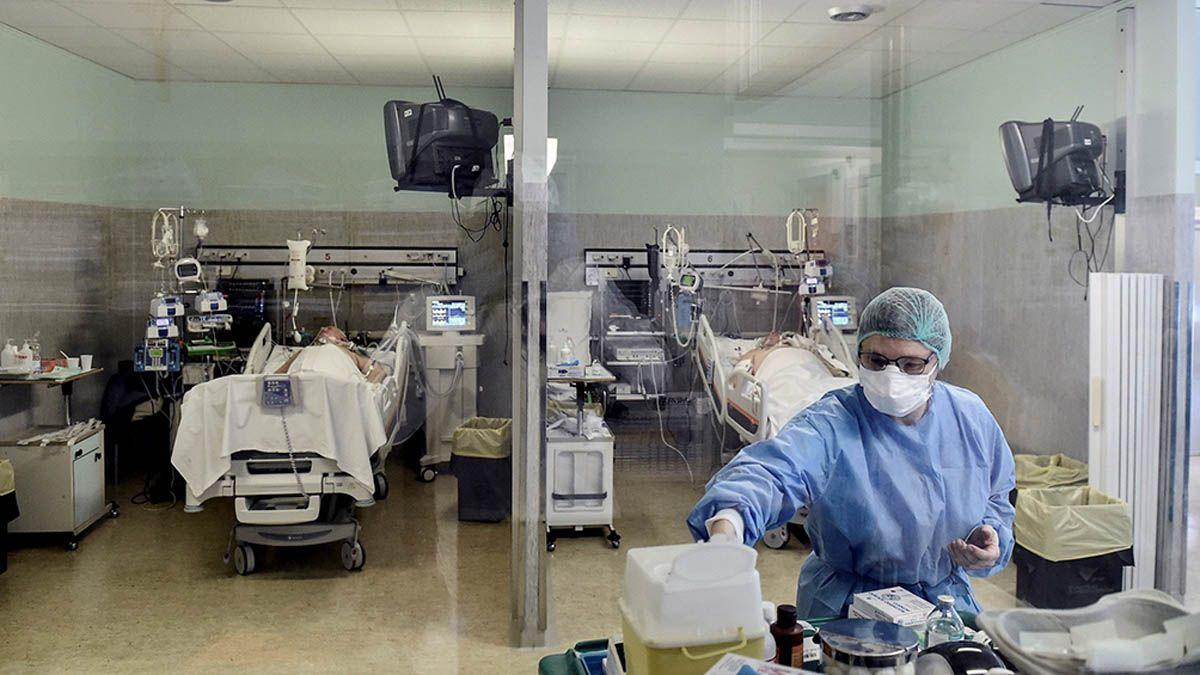 La ocupación de los sectores Covid de terapia intensiva en Mendoza
