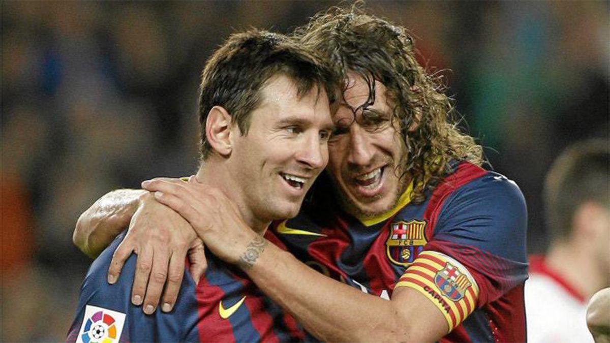 Puyol no anduvo con vueltas y le apuntó a Messi
