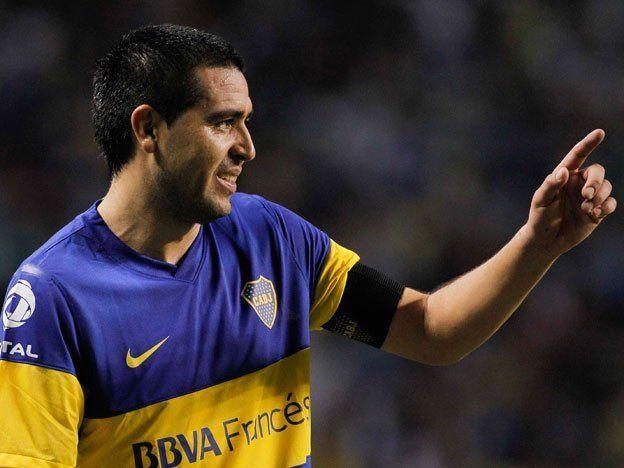 Con Riquelme Boca enfrenta a Unión