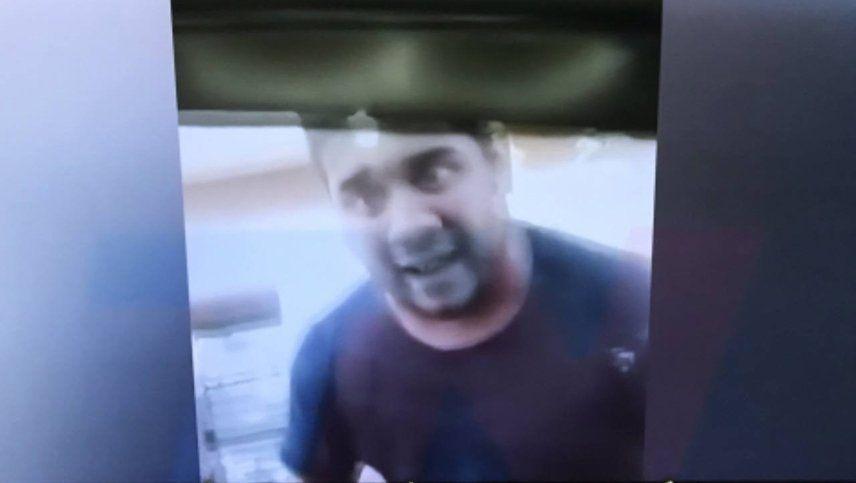 Otra vez un taxista se violentó e invitó a pelear a otro conductor