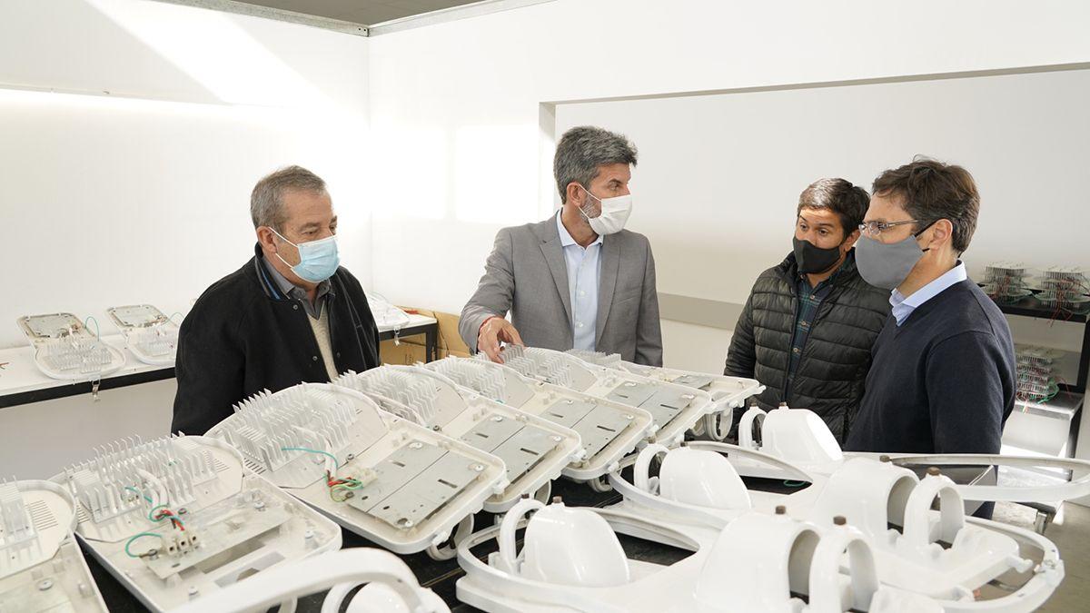 La Municipalidad de Capital recibió 150 luminarias que fueron reconvertidas en la Planta de Reciclado Junín Punto Limpio.