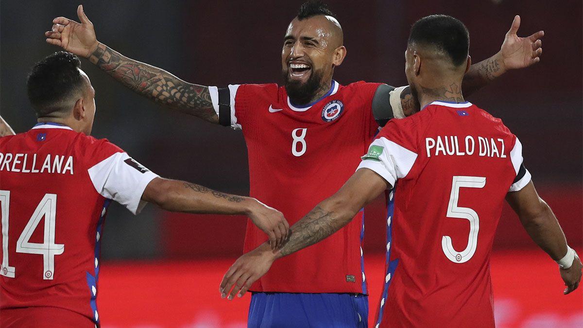 Chile venció a Perú con dos goles del Rey Arturo Vidal