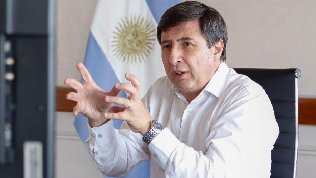 Daniel Arroyo, ministro de Desarrollo Social y precandidato a diputado nacional en la provincia de Buenos Aires por el Frente de Todos.
