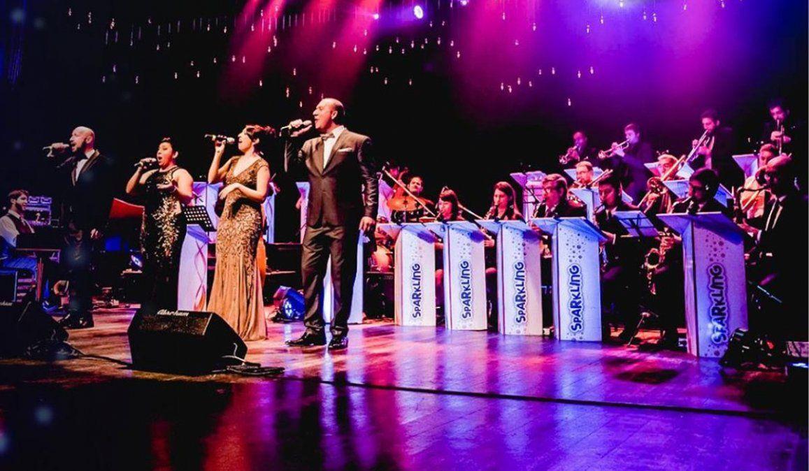 La Sparkling Big Band suspende el show del sábado