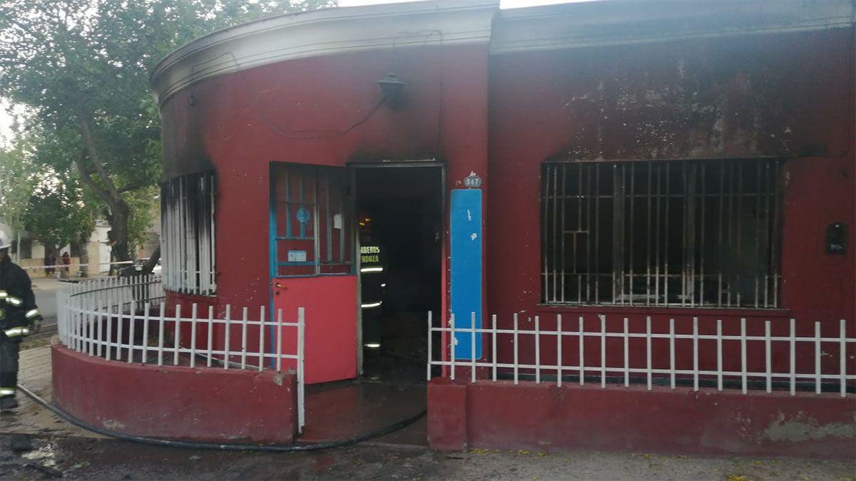 Una mujer murió en un indendio en su casa de Guaymallén