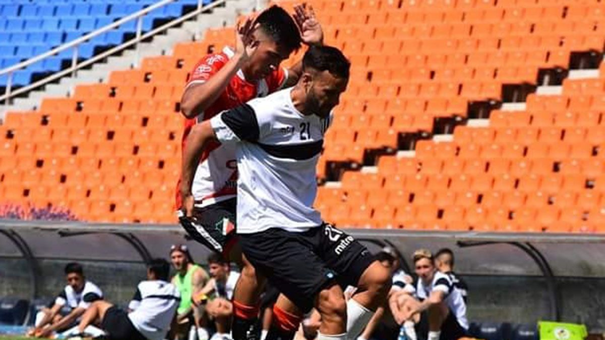 El volante Franco Carrasco sumó varios minutos de fútbol ante Deportivo Maipú.