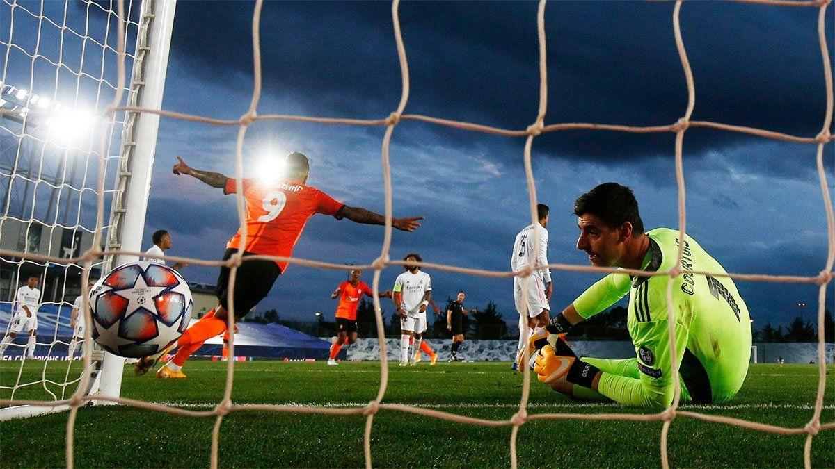 Real Madrid arrancó la Champions League perdiendo