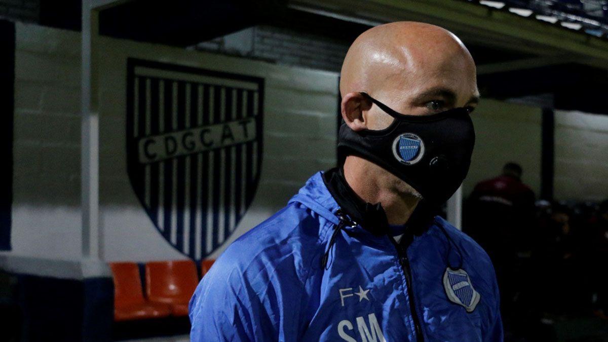 El Gallego Méndez valoró que no le hayan convertido goles.