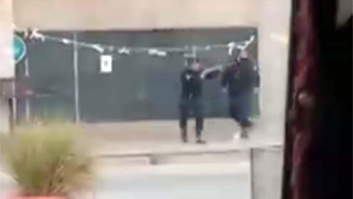 Hubo enfrentamientos en el Barrio Santa Teresita de Las Heras