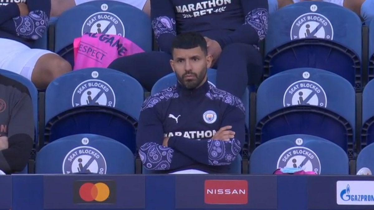 El Kun Agüero, presente en su despedida del Manchester City