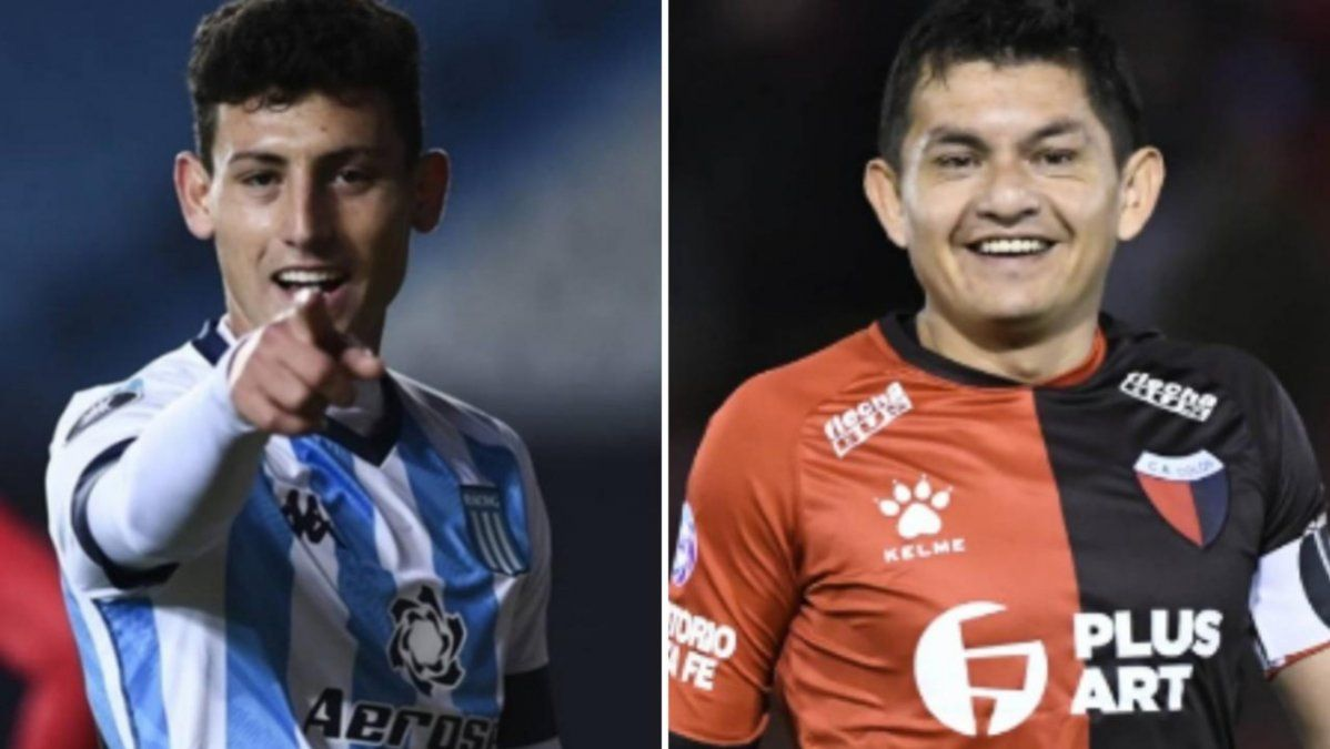 Copa de la Liga Profesional: Racing y Colón juegan la gran final
