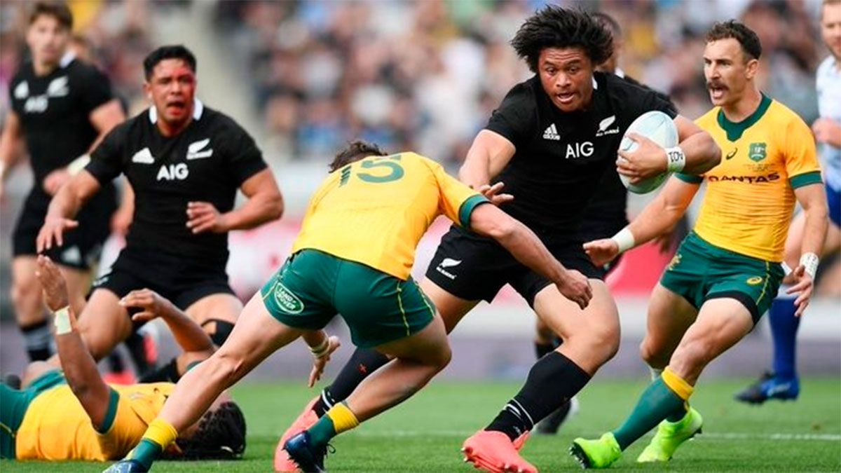 Los All Blacks aplastaron a los Wallabies