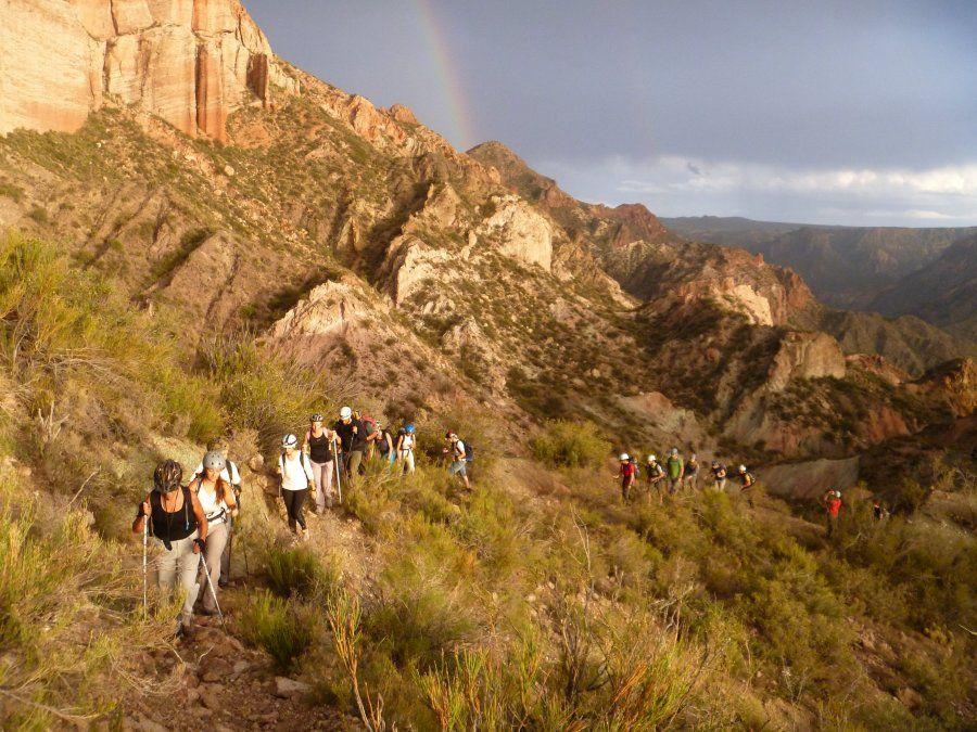 Sanrafaelinos hicieron cumbre en el Cerro Carrizalito