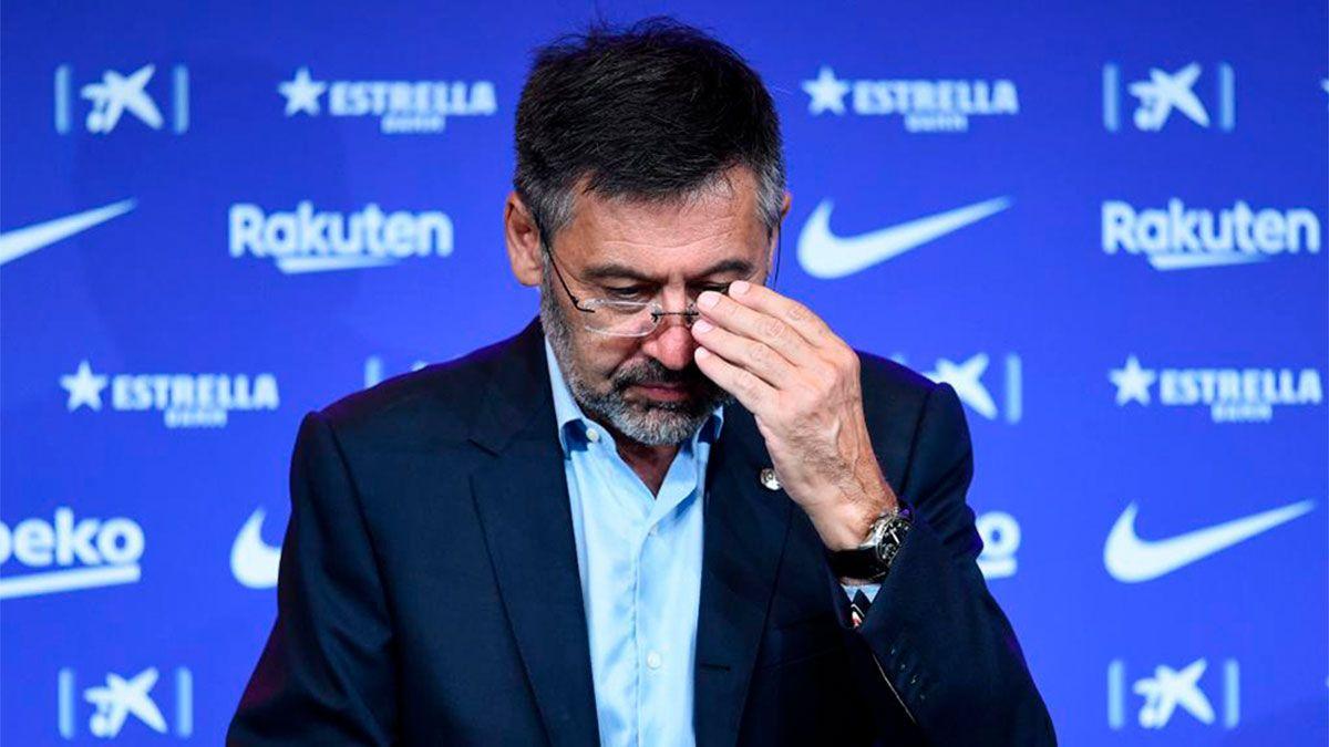 Bartomeu y un nuevo dolor de cabeza en Barcelona
