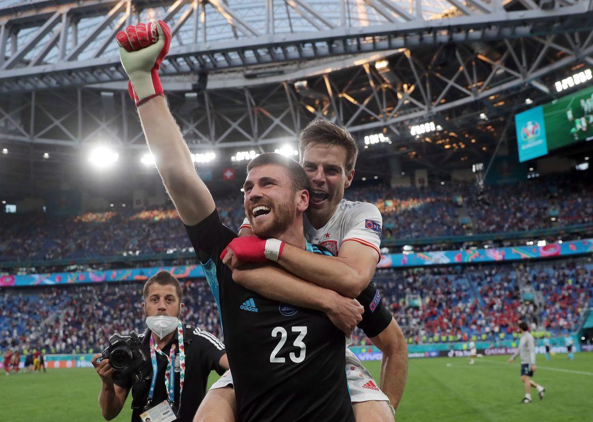 Unai Simón fue el héroe del pase de España a semifinales de la Eurocopa.