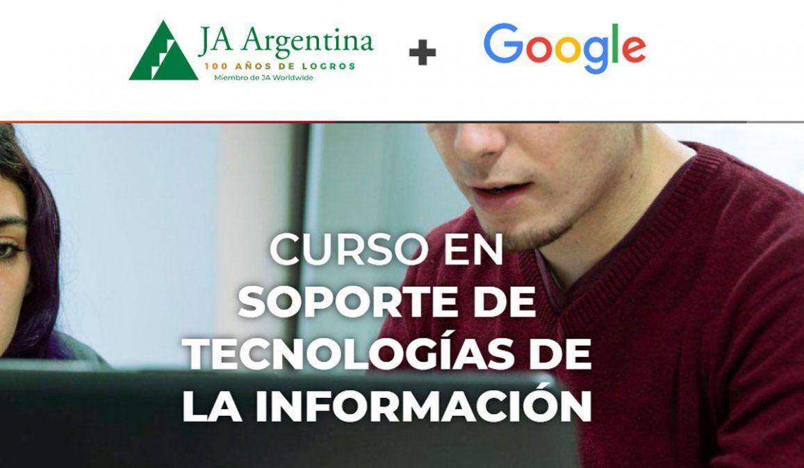 Google y Junior Achievement becan a jóvenes de Mendoza
